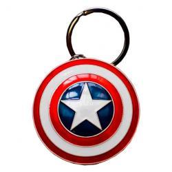 Llavero metal Escudo Capitan America Marvel - Imagen 1