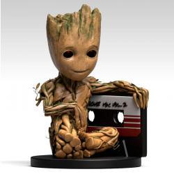 Figura hucha Baby Groot Cassette Guardianes de la Galaxia 2 Marvel* - Imagen 1