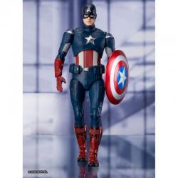 Figura Capitan America Endgame Vengadores Avengers Marvel 15cm - Imagen 1