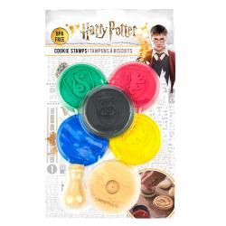 Set 5 sellos galletas Harry Potter - Imagen 1