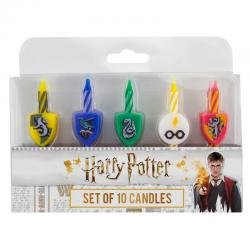 Blister 10 velas Hogwarts Harry Potter - Imagen 1