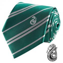 Corbata Slytherin Harry Potter deluxe - Imagen 1
