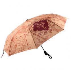 Paraguas plegable Mapa del Merodeador Harry Potter - Imagen 1