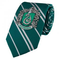 Corbata Slytherin Harry Potter logo tejido - Imagen 1
