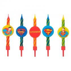 Blister 10 velas Superman DC Comics - Imagen 1