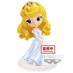 Figura Princess Aurora Bella Durmiente Dreamy Style Disney Q Posket B 14cm - Imagen 1
