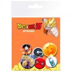 Set chapas Mix Dragon Ball Z - Imagen 1