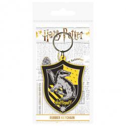 Llavero rubber Hufflepuff Harry Potter - Imagen 1