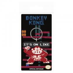 Llavero Donkey Kong It's On Like Nintendo - Imagen 1