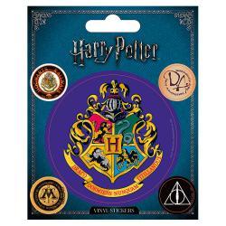 Pegatinas vinyl Hogwarts Harry Potter - Imagen 1