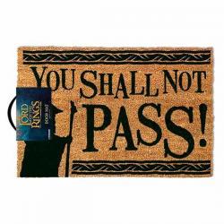 Felpudo El Señor de los Anillos You Shall Not Pass - Imagen 1