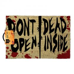 Felpudo The Walking Dead Dont Open Dead Inside - Imagen 1