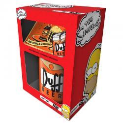 Set regalo Cerveza Duff Simpsons - Imagen 1