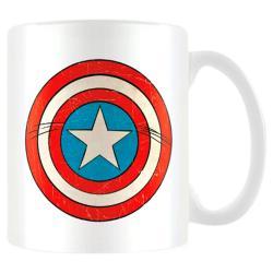 Taza Escudo Capitan America Marvel - Imagen 1