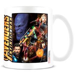 Taza Infinity War Vengadores Avengers Marvel - Imagen 1