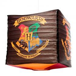 Lampara papel Hogwarts Harry Potter Cube Paper Shade - Imagen 1