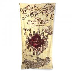 Toalla Marauders Map Harry Potter algodon - Imagen 1