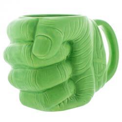 Taza 3D Puño Hulk Vengadores Avengers Marvel - Imagen 1