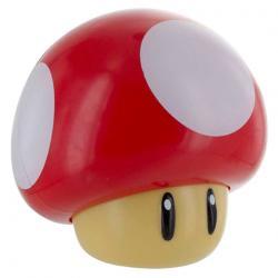 Lampara Mushroom Super Mario Bros Nintendo - Imagen 1