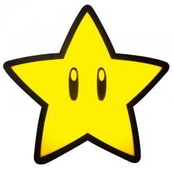 Lampara Super Estrella Super Mario Bros Nintendo - Imagen 1