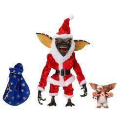 Blister 2 figuras Santa Stripe y Gizmo Gremlins 18cm - Imagen 1