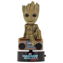 Figura Groot Guardianes de la Galaxia Marvel Body knocker 15cm - Imagen 1