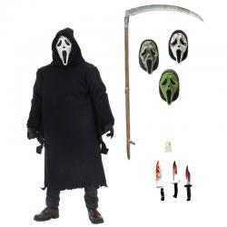 Figura Ultimate Ghostface Scream 18cm - Imagen 1