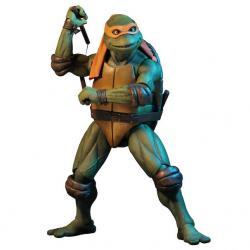 Figura articulada Michelangelo Tortugas Ninja 42cm - Imagen 1