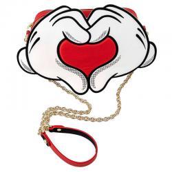 Bolso bandolera Mickey and Minnie Love Disney Loungefly - Imagen 1
