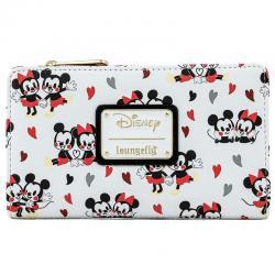 Cartera Mickey and Minnie Love Disney Loungefly - Imagen 1