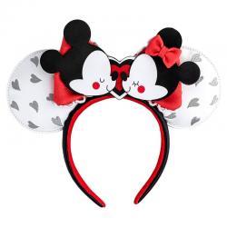 Diadema orejas Mickey and Minnie Love Disney Loungefly - Imagen 1