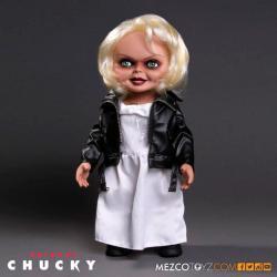 Figura Tiffany La Novia de Chuky parlante 38cm - Imagen 1