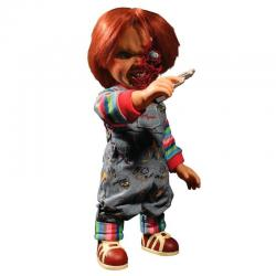 Figura Chucky El Muñeco Diabolico 3 Cara Pizza parlante 38cm ingles - Imagen 1