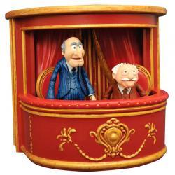 Set 2 figuras articuladas Statler y Waldorf Los Muppets 10cm - Imagen 1