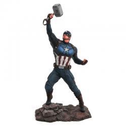Estatua Capitan America Vengadores Endgame Marvel 23cm - Imagen 1