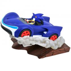 Figura dioramma Sonic Racers Sonic The Hedgehog 25cm - Imagen 1