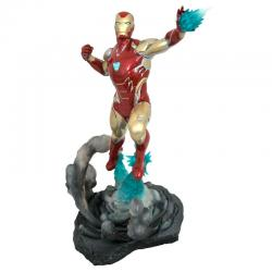 Figura Iron Man MK85 Vengadores Endgame Diorama Marvel Movie Gallery 23cm - Imagen 1