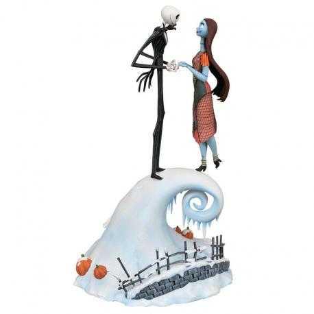 Estatua resina Jack & Sally Pesadilla Antes de Navidad Disney 36cm - Imagen 1