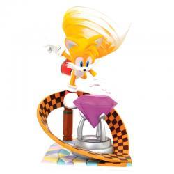 Figura diorama Tails Sonic The Hedgehog 23cm - Imagen 1