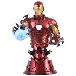 Busto Iron Man Marvel 15cm - Imagen 1