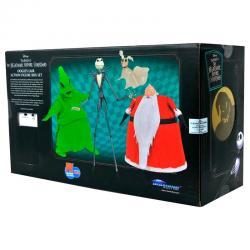 Set 3 figuras Pesadilla Antes de Navidad Disney SDCC 2020 Exclusive - Imagen 1
