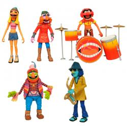 Set 5 figuras The Electric Mayhem The Muppets Show SDCC 2020 Exclusive - Imagen 1