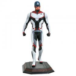 Estatua diorama Capitan America Vengadores Avengers Endgame Marvel 23cm - Imagen 1