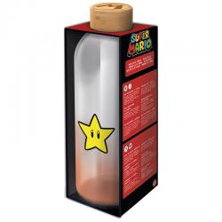 Botella cristal Super Mario Bros Nintendo 1030ml - Imagen 1