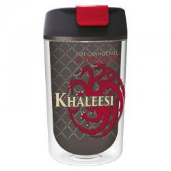 Vaso cafe Juego de Tronos Khaleesi doble pared - Imagen 1