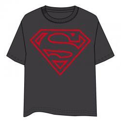 Camiseta Superman DC Comics gris adulto - Imagen 1