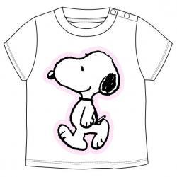 Camiseta Snoopy Gris bebe - Imagen 1