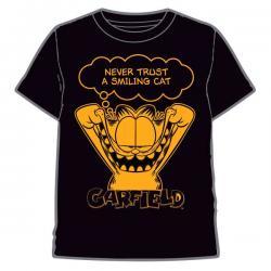 Camiseta Black Garfield infantil - Imagen 1