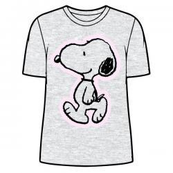 Camiseta Snoopy Gris adulto mujer - Imagen 1