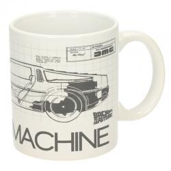 Taza Time Machine Regreso al Futuro - Imagen 1